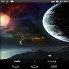 Download live wallpaper Space planets for free and Thunderstorm by live wallpaper HongKong for Android phones and tablets .