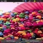 Download live wallpaper Sweets for free and Cobra attack for Android phones and tablets .