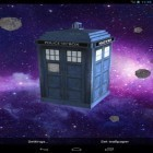 Download live wallpaper Tardis 3D for free and Deep space 3D for Android phones and tablets .