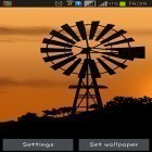 Download live wallpaper Windmill by Pix live wallpapers for free and Thunderstorm by Creative Factory Wallpapers for Android phones and tablets .