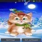 Download live wallpaper Winter cat for free and Fantasy swamp for Android phones and tablets .