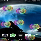 Download live wallpaper Wolf animated for free and Fire tornado for Android phones and tablets .